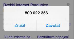 Volání na 800 je bezplatné. Není!